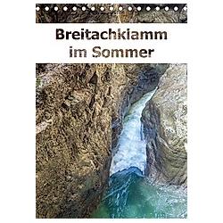 Breitachklamm im Sommer (Tischkalender 2021 DIN A5 hoch) - Kalender