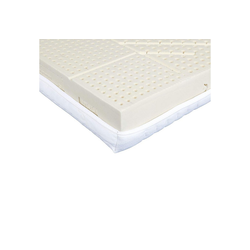 Latexmatratze Latexmatratze Komfort (Natur-Latexmatratze), Ravensberger Matratzen, mit Baumwoll-Doppeltuch-Bezug 200 cm x 80 cm