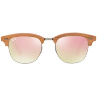 Ray Ban Clubmaster RB3016M 51mm red-brown/ copper gradient flash