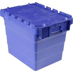 VISO DSW 4332 Klappdeckelbox (B x H x T) 400 x 320 x 300mm Blau 1St.