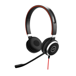 Jabra Evolve 40 Headset, Stereo, USB-C, 3,5mm Klinke, Optimiert für Skype for Business