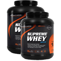 SRS Supreme Whey, 900 g Dose, Cookies - Cream