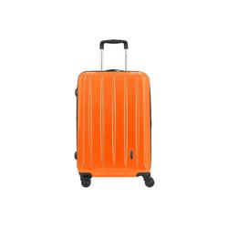 CHECK.IN® Trolley London 2.0 4-Rollen-Trolley 67 cm, 4 Rollen orange