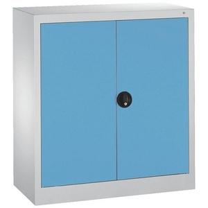CP Aktenschrank abschließbar blau 94 cm x 100 cm x 40 cm