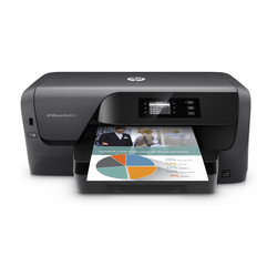 HP Tintenstrahldrucker Office Jet Pro 8210 Wifi, 5,08 cm Display