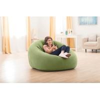 "Intex Aufblasbarer Lounge-Sessel und Clubsessel ""Beanless Bag Club Chair"",grün,124 x 119 x 76 cm"
