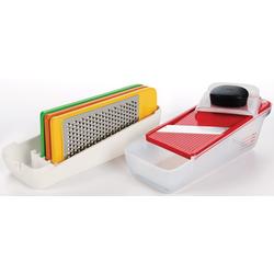 OXO Good Grips Multireibe Reibe- und Hobel-Komplettset weiß Reiben Hobel Kochen Backen Haushaltswaren
