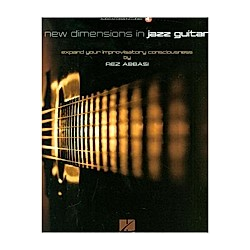 New Dimensions in Jazz Guitar  Gitarre. Rez Abbasi  - Buch