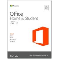 Microsoft Office Home & Student 2016 PKC DE Mac