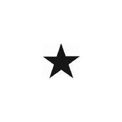 Logoschablone Stern