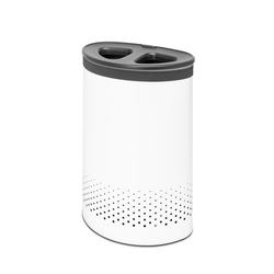 BRABANTIA Wäschebox Selector 55 Liter WHITE