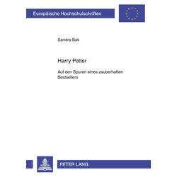 Harry Potter als Buch von Sandra Wilfinger-Bak