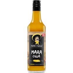 Papa Fuego Maracuja Vanille sehr fruchtig Schnaps Likör 700 ml