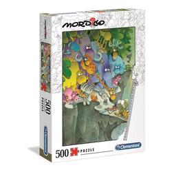 Clementoni® Puzzle 35080 Mordillo Kapitulation 500 Teile Puzzle, 500 Puzzleteile