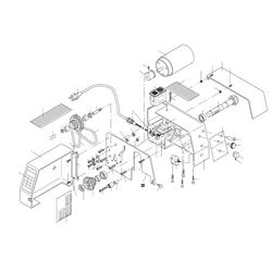 PROXXON 24004-01-31 Motorbefestigungsplatte PD 230/E bis Seriennummer 16149