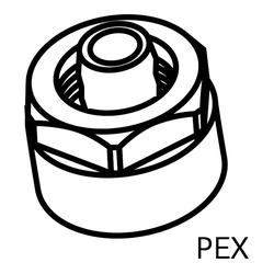 HSK Klemmverschraubungen für PEX-Rohre