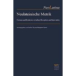 Neulateinische Metrik - Buch