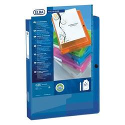 Dokumentenbox polyvision A4 PP 40mm blau