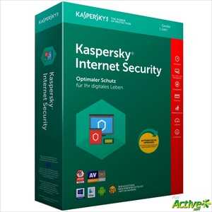 Kaspersky Internet Security 2021 | 1 Gerät/MAC/PC 1 Jahr | VOLLVERSION DE-Lizenz