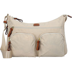 Bric's X-Bag Umhängetasche 34 cm beige-leather
