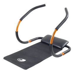 Get Fit Force Roller - Bauchmuskeltrainer Black/Orange