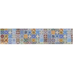 Küchenrückwand fixy Pablo Fliese bunt 280 cm
