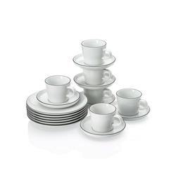 ARZBERG Teekanne Arzberg Kaffeeservice 18-teilig Cucina Basic Color