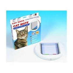 Cat Mate 210 Kattenluik Wit (Glas/Dunne deuren)  Kattenluik