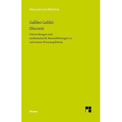 Discorsi: eBook von Galileo Galilei