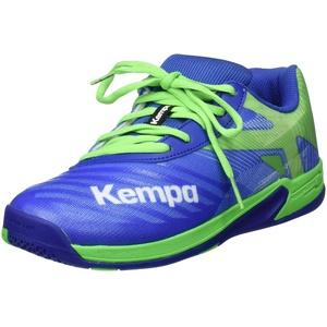 Kempa Unisex-Kinder Wing 2.0 JUNIOR Handballschuhe, Grün (Azur/Vert Printemps 01), 29 EU