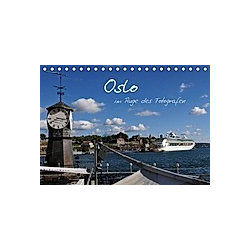 Oslo im Auge des Fotografen (Tischkalender 2021 DIN A5 quer)