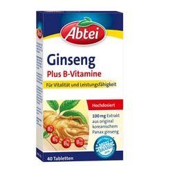 ABTEI Ginseng Plus B-Vitamine Tabletten 40 St