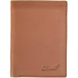 Geldtasche REELL - Trifold Leather Wallet Cognac (COGNAC) Größe: one size