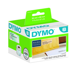 DYMO 260 Adressetiketten (36 x 89 mm)