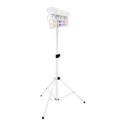 Eurolite LED KLS-180 ws + Stativ Set weiß