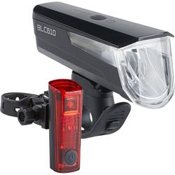 Büchel Fahrradbeleuchtung BLC 610 + Duo LED