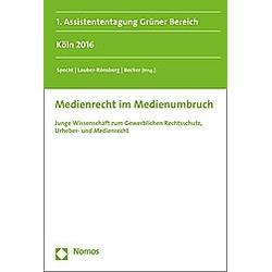 Medienrecht im Medienumbruch - Buch