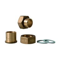 Messing Lötanschluss für Druckminderer 15 mm x 3/4