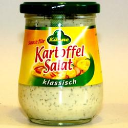 Kühne Sauce für Kartoffelsalat fertig gewürzt laktosefrei 250ml