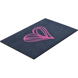 Fußmatte Herzensangelegenheit, COUCH♥, rechteckig, Höhe 8 mm, Fußmatte