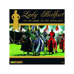Lady Bedfort 74: Die Leiche aus dem Mittelalter - (CD)