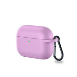 CoverKingz Etui Hülle für Apple AirPods 3 / AirPods Pro Silikon Case Cover Bumper Tasche Lila Apple AirPods Pro / AirPods 3 lila