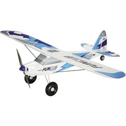 Multiplex BK FunCub NG blau Weiß, Blau RC Motorflugmodell Bausatz 1410mm