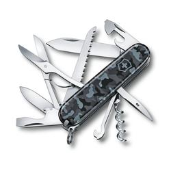 Victorinox Taschenmesser Huntsman Jagdmesser mittleres 1.3713.94 15 Funktionen blau