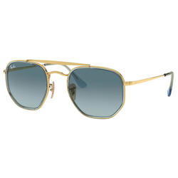 RAY BAN Sonnenbrille THE MARSHAL II RB3648M goldfarben