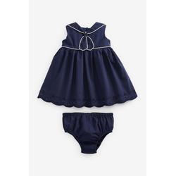Next Sommerkleid Kleid mit Matrosenkragen 80-86