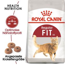 ROYAL CANIN FIT Trockenfutter für aktive Katzen 20 kg (2 x 10 kg)