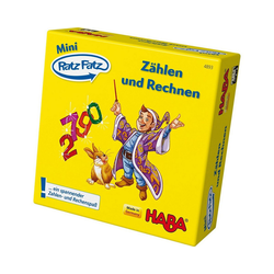 Haba Lernspielzeug HABA 4893 Mini-Ratz Fatz Zählen und Rechnen