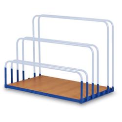 Ladefläche zum wagen für plattenmaterial