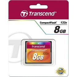 Transcend Transcend CF Karte 8GB 133x Speicherkarte (8 GB)